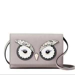 🦉NWT Kate Spade Owl Saffiano Leather Crossbody🦉